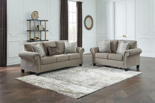 Shewsbury Pewter 2 Pc. Sofa, Loveseat img