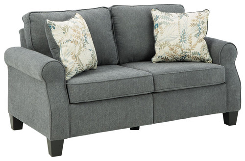 Alessio Charcoal Loveseat img