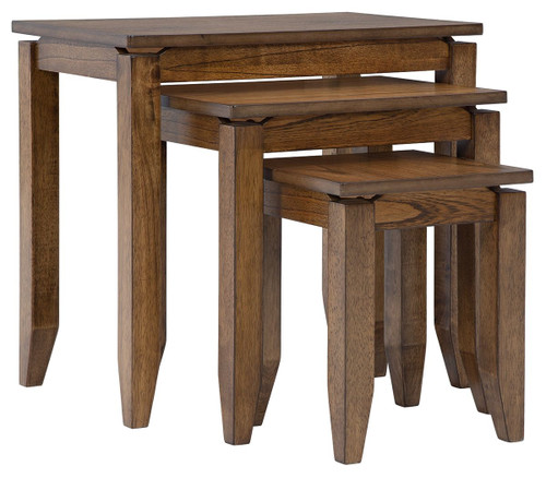 Brentmond Brown Accent Table Set (3/CN) img
