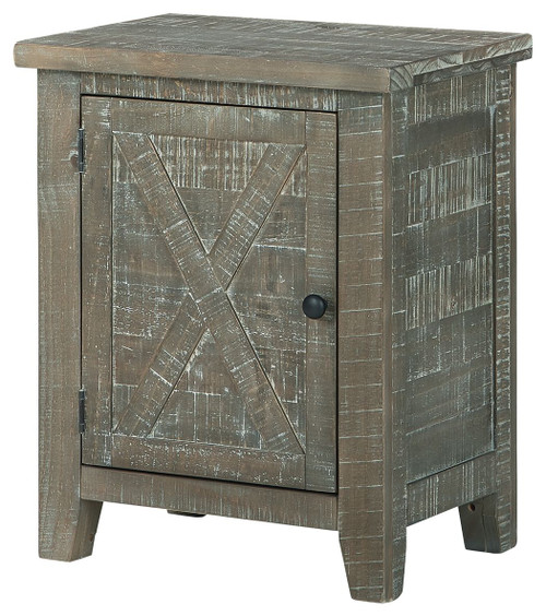 Pierston Gray Accent Cabinet img