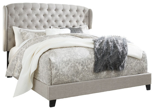 Jerary Gray Queen Upholstered Bed img