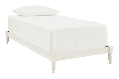 Tannally White Full Platform Bed img