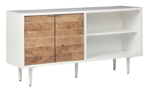 Shayland White/Brown Accent Cabinet img