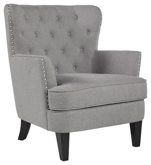 Romansque Gray Accent Chair img