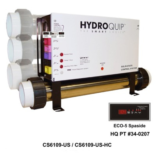 Hydro Quip Digital Spa Control , Slide Heater - CS6239-US - Spa Parts Depot | Hydro Quip Wiring Diagram |  | Spa Parts Depot