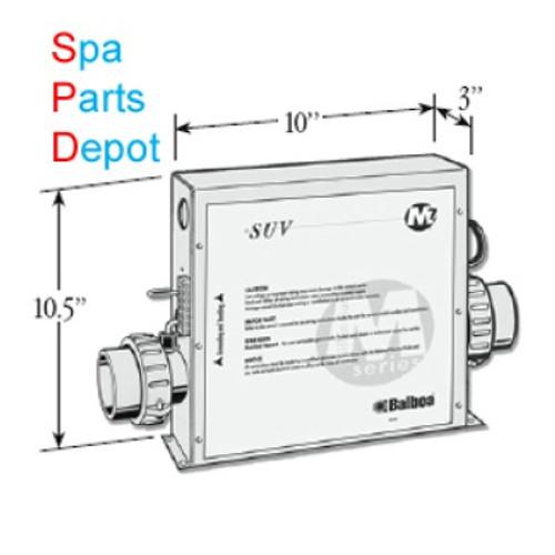 Balboa Retrofit Kit Complete Spa Control Pack VS501Z - 54217-Z - Spa on