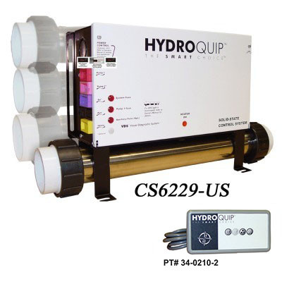 Hydro Quip Cs6229 Digital Spa Control Slide Heater Cs6229 Us F Spa Parts Depot