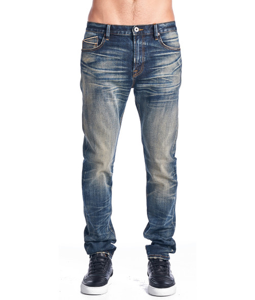 PS Cult of Individuality Men's Stilt Skinny Jeans in Antique 66B0-S34D
