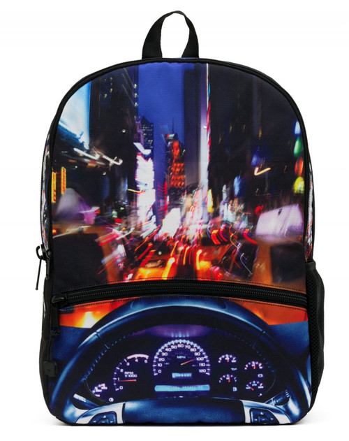 Mojo Backpacks NYC New York Cruisn' Motion Activated LED