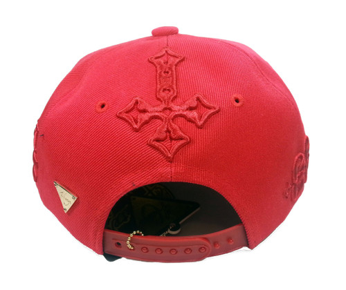 HATer Snapback Gothic Red Script HAT Cap Snakeskin - HAS Style 5acef040e793