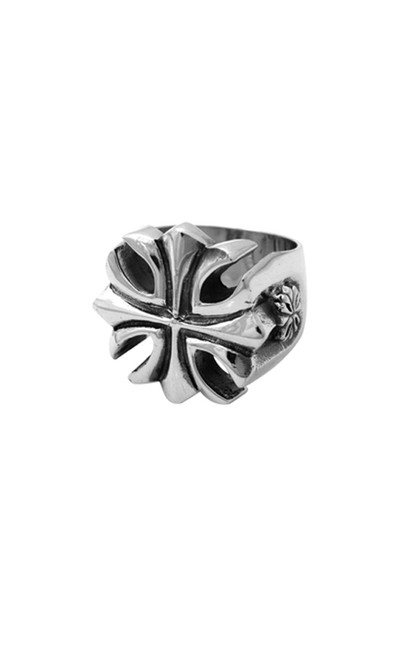 King Baby Gothic Cross Ring Sterling Silver K20-5004