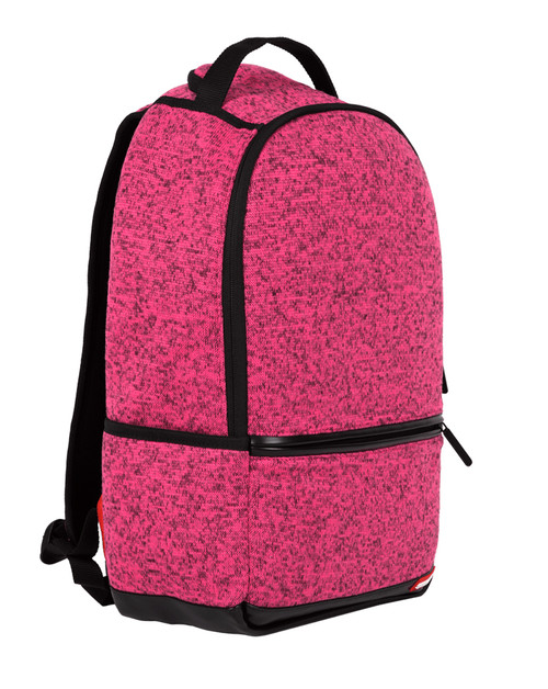 Sprayground Pink Knit Laptop Backpack Limited Edition