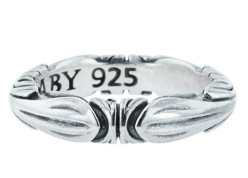 King Baby Simple Fine Line Engraved Band Ring K20-6076