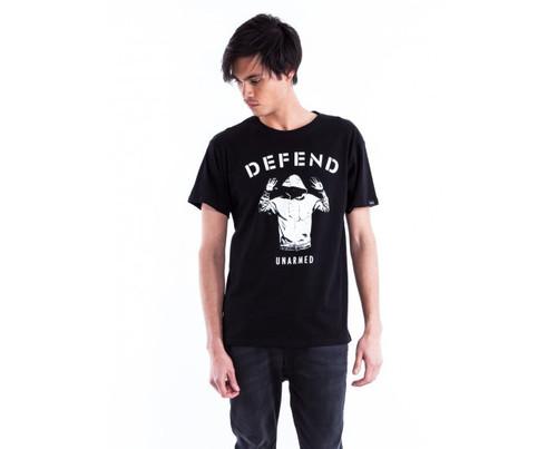 Defend Paris Unisex Unarmed T-Shirt Black