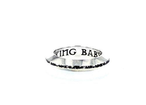 King Baby Studio Chamfered Stackable Ring Sterling Silver K20-6515