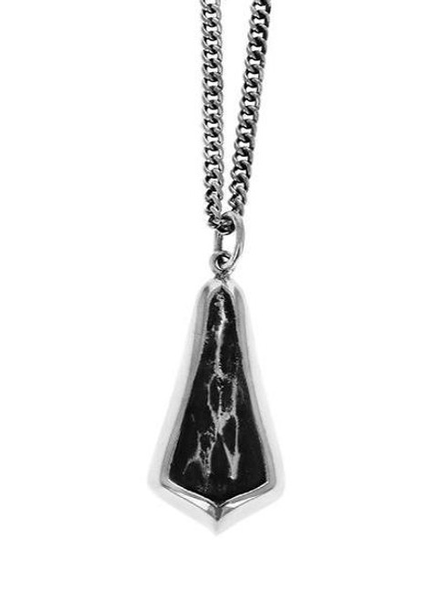 King Baby Studio Hammered Drop Pendant Necklace K10-6503