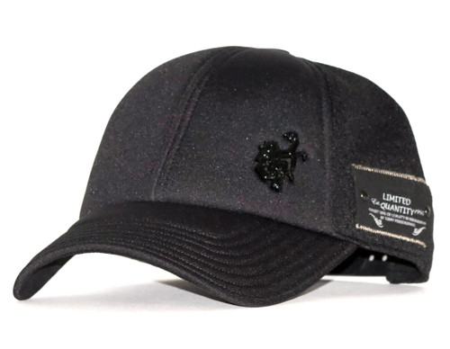 Red Monkey Foam Core Snap Back Cap Hat Black RM1199