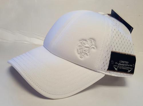 Red Monkey Foam Front Core Snap Back Cap Hat White RM1199W