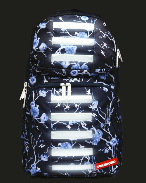Sprayground Cherry Blossom Light up LED Trooper Backpack Limited