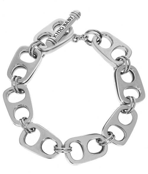 King Baby Studio Large Double Layer Pop Top Bracelet T-Bar K40-4001