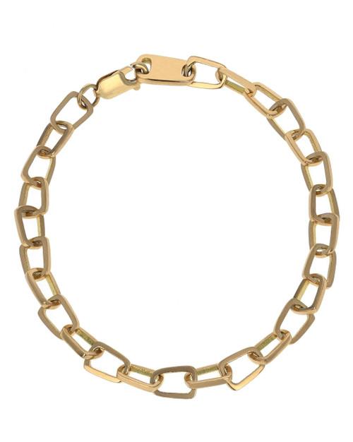 King Baby Studio 18K Gold Pop Top Cut Out Bracelet K40-4005G