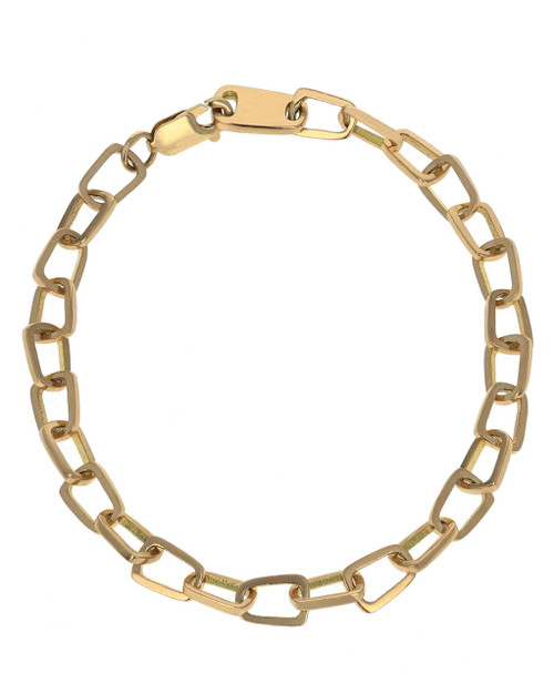 King Baby Studio 18K Gold Pop Top Cut Out Bracelet K40-4005G