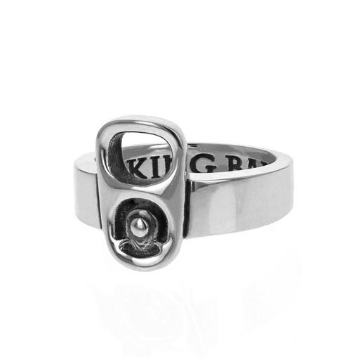 King Baby Studio Pop Top Ring Sterling Silver K20-4000