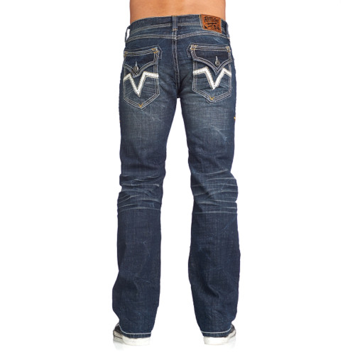 Affliction Jeans Men's Cooper Standard V Snowmass 110BC010