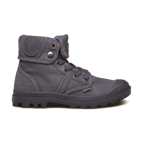 Palladium Footwear Men's Pallabrouse Baggy Iron/Brushed Nickle 02478-084-M