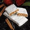 Oatmeal Cinnamon Raisin Bar with yogurt coating