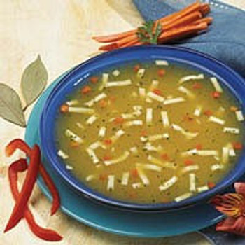 Homestyle Chicken Soup with noodles