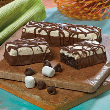 Marshmallow Brownie Crisp Bar