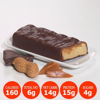 Bariatrix Nutrition Caramel Nut Meal Replacement Proti Bar