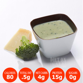 Bariatrix Nutrition Broc and Cheese Proti-15 Meal Replacement Protein Soup