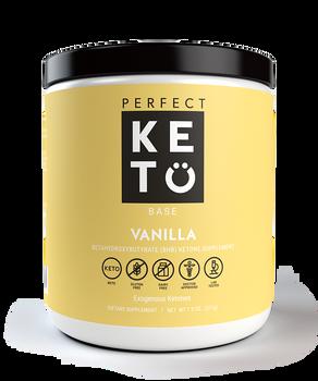 Perfect Keto Vanilla Ketone Base - Keto Diet