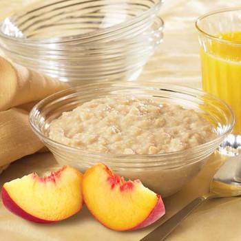 HealthWise Peaches and Cream Oatmeal