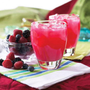HealthWise Wildberry Weight Loss protein fruit drink.