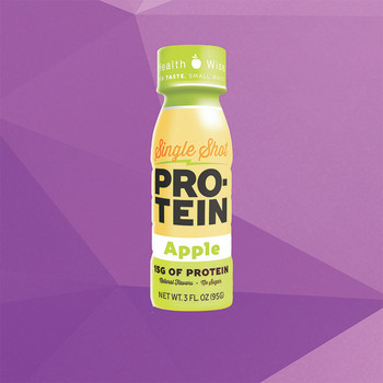 Health Wise Apple Protein Shot
