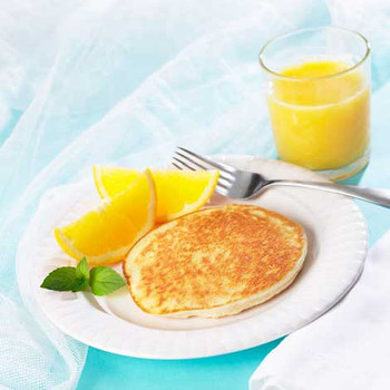Health Wise Golden Pancakes