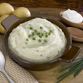Sour Cream & Chives Mashed Potatoes