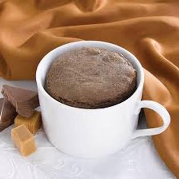 Health Wise Chocolate Caramel Mug Cake