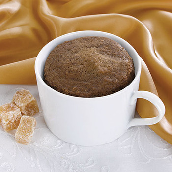 Health Wise Gingerbread mug cake