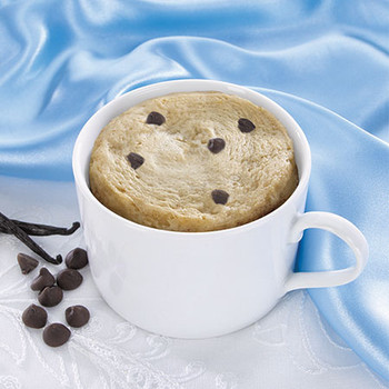Health Wise Vanilla Chocolate Chip Mug Cake