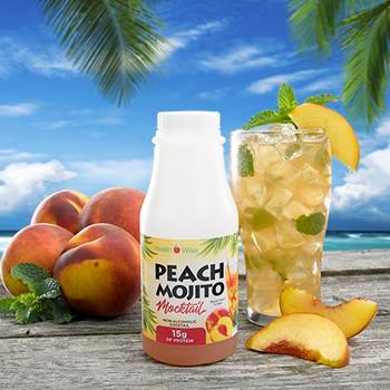 Health Wise Peach Mojito