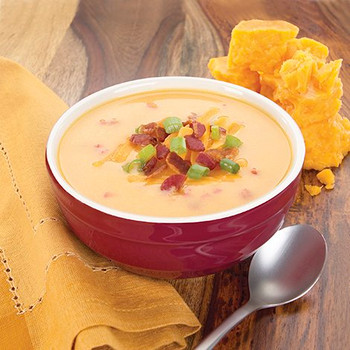 HealthWise Bacon and Cheddar Soup