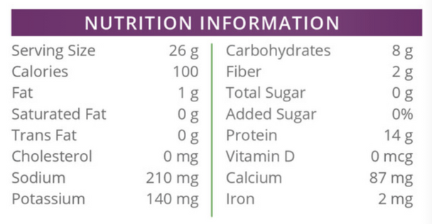 Health Wise Traditional Weight Loss High Protein Oatmeal Nutritional Facts
