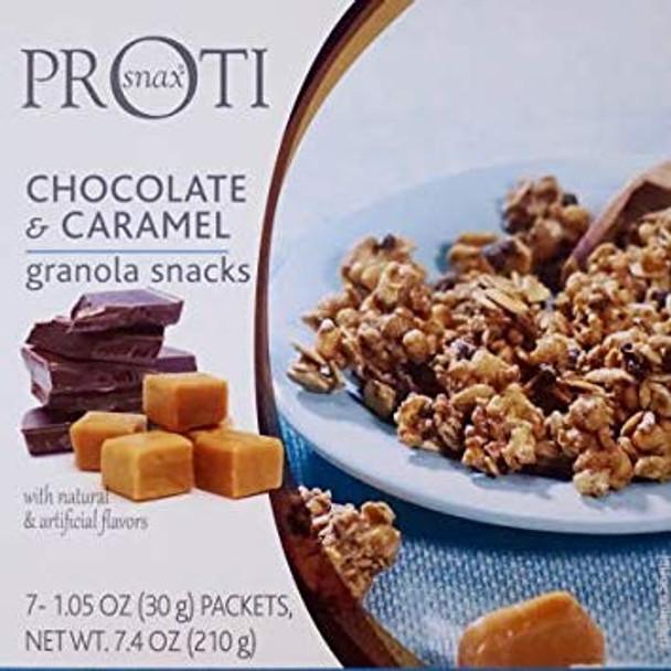 Proti Snax Chocolate & Caramel Granola Snacks