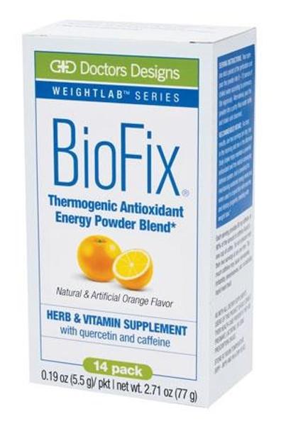 BioFix Orange Energy Drink Soma Labs Doctors Designs