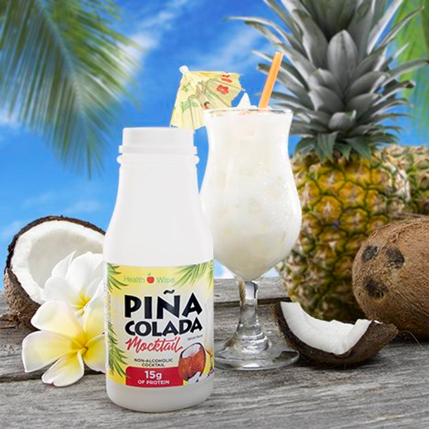 Health Wise Pina Colada Mocktail