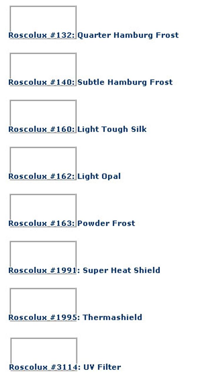 Rosco Super Heat Shield Filter 20x24 Sheet